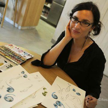 Alba Fernández diseña con… Margarita e ilustra con… Jaime
