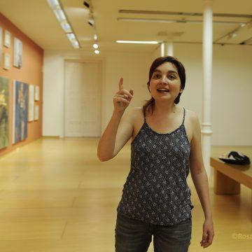 A comisaria de arte Olga Pastor quere apostar, dende Ourense, por mulleres artistas